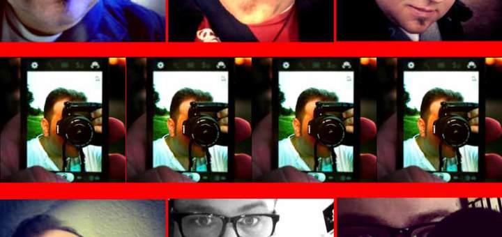 Selfies an die Foto-Front