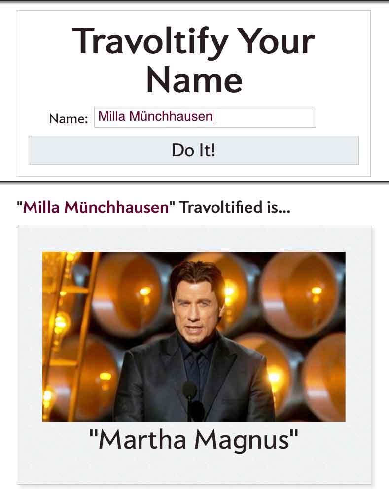 Wie aus Milla Münchhausen Martha Magnus wurde
