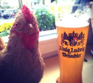 """Frankensteins Huhn alias """"Robot Chicken"""""""
