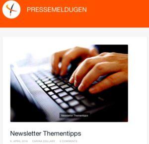 PRESSEMELDUGEN - ONLINETEXTE.com