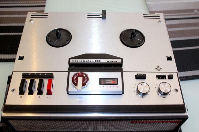 Telefunken Magnetophon 203 automatic