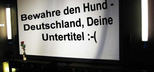 Deutsche Untertitel sind ...