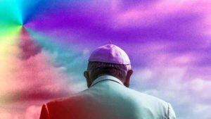 Der Papst im Bannkreis des Regenbogens
