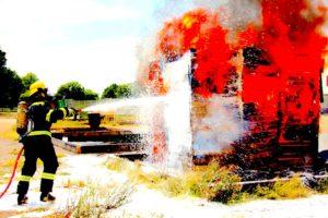 Silvesterknallerei ist brandgefährlich